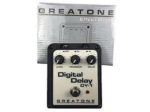 Pedal Delay Onerr Digital Greatone Violao Guitarra Baixo Voz