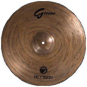 Prato China Octagon Groove 18 Bronze B8 Gr18ch