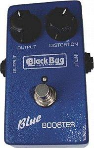Pedal Black Bug Blue Tbb Booster Simulador Amp Valvulado
