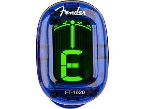 Afinador clip Cromático fender California Series FT-1620 Azul