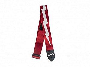 Correia Gibson Lightning Bolt Nylon Vermelha ASGSBL20 original