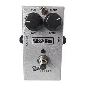 Pedal Chorus Para Guitarra Baixo Violao Silver Tsc Black Bug