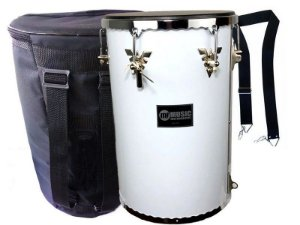 kit Rebolo Madeira 12 profissional branco music bag Talabart
