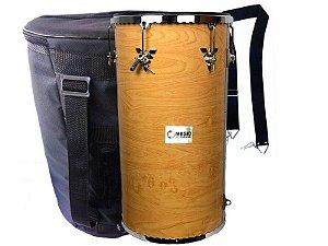 Kit tantam madeira 70 x 14 natural Music com capa talabarte