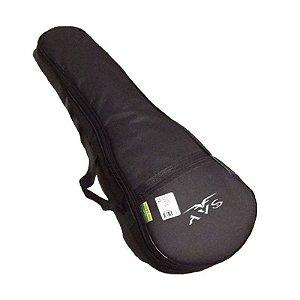 Capa Bag Ukulele Concert 23k Super Luxo Acolchoado Avs