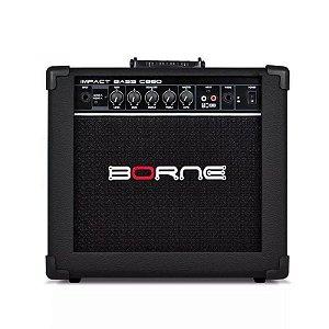 Amplificador para baixo Cubo Borne Cb60 Impact Bass 20w Preto