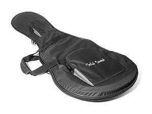 Case Hard Bag Para Guitarra Stratocaster Rigido Solid Sound