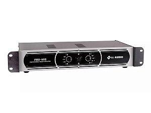 Amplificador Potência Ll Áudio Pro600 150w