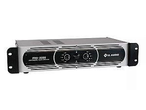 Amplificador Potência Ll Áudio Pro2200 550w