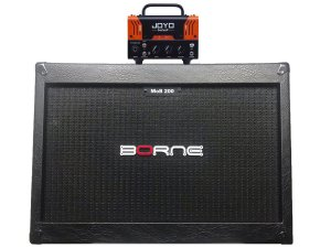 Cabeçote Joyo Firebrand Bantamp Pré-valvulado caixa mob 2x12