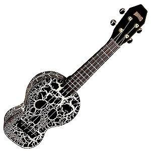 ukulele caveira brilha no escuro mahalo los piratas MC1SGGN