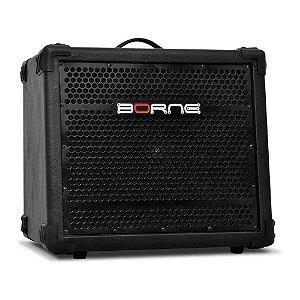 Cubo Amplificador Para Teclado 100w Borne Btk100 Falante 10
