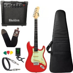 Guitarra Vermelha Tagima Memphis Mg30 Amplificador Sheldon