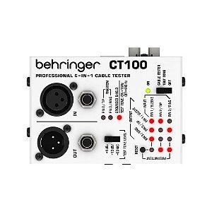 Testador Behringer Para Cabos Ct100 Cable Tester Ct100
