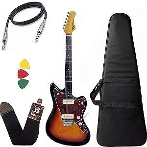 Guitarra  Tagima Tw61 Woodstock Sunburst Bag Correia