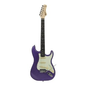 Guitarra Tagima Tg500 Roxo Woodstock Strato Metallic Purple