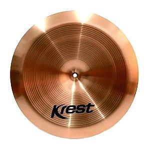 Prato China Krest Cymbals Tz 18 Bronze B8 Tz18ch