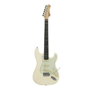 Guitarra Tagima Tg500 Branco Strato Olympic White