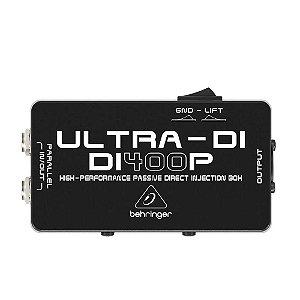 Direct Box Behringer Di400p Passivo Guitarra Baixo Teclado