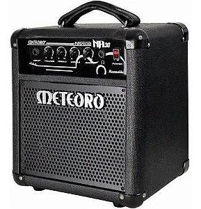 Cubo Amplificador Meteoro Nitrous Acoustic Na30 30w p violão