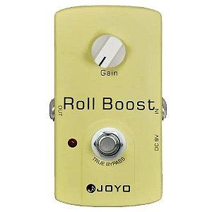 Pedal Boost Joyo Roll Boost Clean Jf38 Guitarra violão baixo