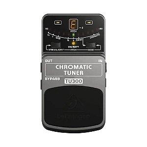 Pedal Afinador Behringer Tu300 Cinza Chromatic Tuner