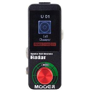 Pedal Mooer Radar Ms1 Simulador De Gabinete Caixa Cabeçote
