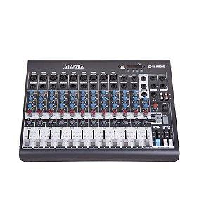 Mesa De Som Starmix Ll Audio Xms1202d 12 Canais Bluetooth