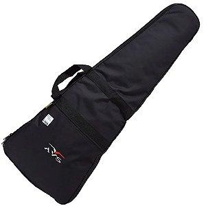 Capa Bag Para Guitarra Avs Ch10 Superluxo Acolchoado Lateral