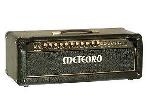 kit completo Cabeçote Meteoro Jaguar Stereo Chorus 200 + 2 Caixas 4x12 600w
