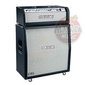 Kit completo Cabeçote Meteoro Wector 3 pre valvulado + Caixa 4x12 300watts - profissional