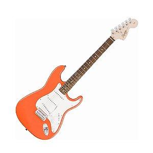 Guitarra Fender Squier Affinity Stratocaster Rw Laranja