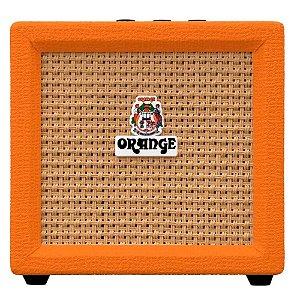Mini Amplificador Orange Crush Mini Guitarra C/ Afinador