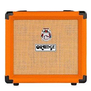 Cubo Amplificador Orange Crush 12 W Laranja Para Guitarra