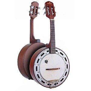 Banjo Marques Baj87 Castanho Passivo