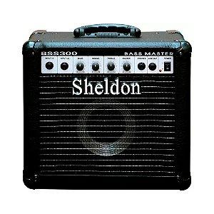 Amplificador Baixo Bss300 Cubo Sheldon 30w