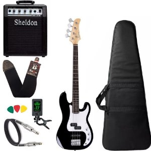 Kit Baixo Strinberg Pbs40 Preto Bk Precision + Amplificador