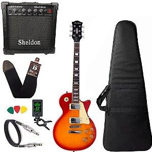 Guitarra Les Paul Strinberg Lps230 Cherry Sb Amplificador