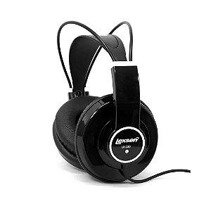 Headphone Lexsen Lh280b Preto Fone De Ouvido Dinâmico