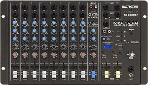 Mesa De Som 10 Canais Stereo Ciclotron Wattsom Mxs 10 Sd Usb
