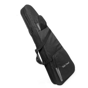 Hard Bag Case Para 2 Guitarras Rigido Mochila Solid Sound