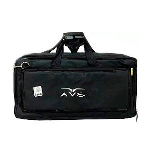 Capa Bag Luxo Pedaleira G9 Boss Vox Line 6 Zoom Korg 60x24cm