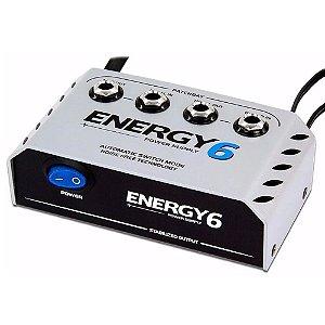 Fonte 6 Pedais Landscape E6 Energy Patchbay +cabos 1000ma 9v