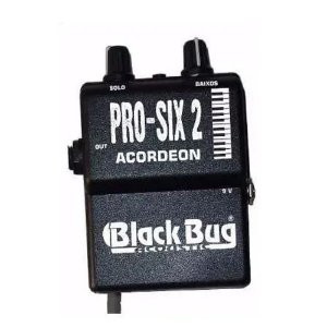 Microfone Captador Acordeon Prosix2 Mic Sennheiser Black Bug