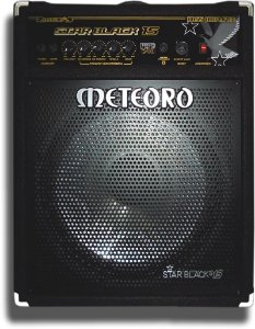 Amplificador Baixo Meteoro Star Black 15 240w