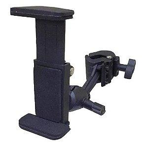 Suporte De Celular Para Mesa Ou Pedestal Saty Sc01 Reforçado