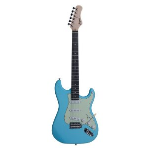 Guitarra Stratocaster Azul Claro Tagima Memphis Mg30