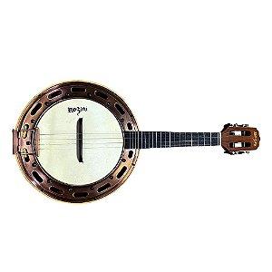 Banjo Rozini Rj15 Elétrico Mogno Fosco Ativo Afinador