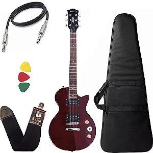 Guitarra Les Paul Strinberg Lps200 Vermelho Twr Com Capa Bag