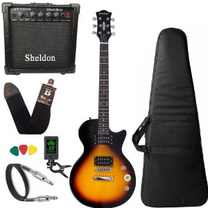 Guitarra Les Paul Strinberg Lps200 Sunburst sb Amplificador